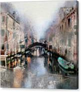 Afternoon In Venice IIi Canvas Print