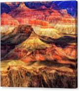 Afternoon Light At Mather Point, Grand Canyon Canvas Print