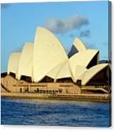 Afternoon Light On The Sydney Opera House Canvas Print