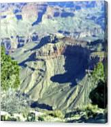 Afternoon View Grand Canyon Canvas Print