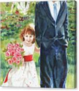 Afternoon Wedding Canvas Print