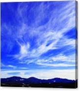 Afton Sky And Mountains I Canvas Print