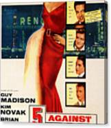 Against The House Film Noir  Canvas Print