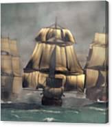 Age Of Sail Canvas Print