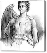 Agnodice, Ancient Greek Physician, 4th Canvas Print