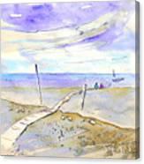 Agua Amarga 03 Canvas Print