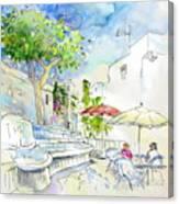 Agua Amarga 10 Canvas Print