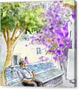 Agua Amarga 11 Canvas Print