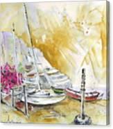 Agua Amarga 13 Canvas Print