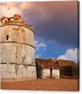 Aguada Fort Goa Canvas Print