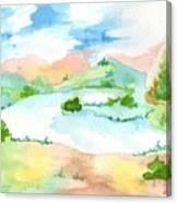 Aguarela3 Canvas Print