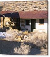 Aguereberry Camp - Death Valley Canvas Print