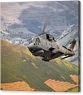 Agusta Merlin Flies The Loop  Canvas Print