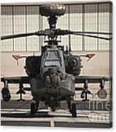 Ah-64d Apache Longbow At Pinal Airpark Canvas Print