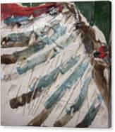 Ahoy - Tile Canvas Print