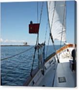Ahoy Canvas Print