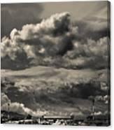 Ahuachapan Infrared Canvas Print