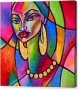 Aida Canvas Print