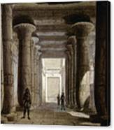 Aida Set, 1871 Canvas Print