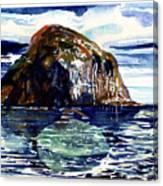 Ailsa Craig Canvas Print