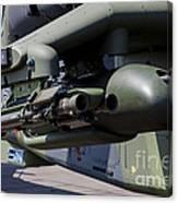 Aim-92 Stinger Weapon And Gunpod Canvas Print