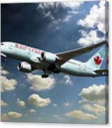 Air Canada 787 Dreamliner Canvas Print