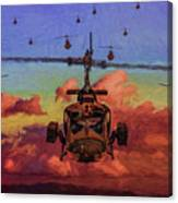 Air Cavalry Bell Uh-1 Huey  Canvas Print