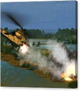 Air Conflicts Vietnam Front Canvas Print