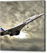 Air France Concorde 115 Canvas Print