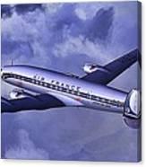 Air France Connie Canvas Print