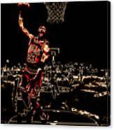 Air Jordan Thermal Canvas Print