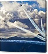 Air-show Canvas Print