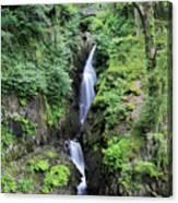 Aira Force Waterfall, Aira Beck, Ullswater, Lake District Canvas Print