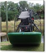 Airboat Canvas Print