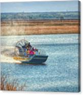 Airboat Rides Canvas Print