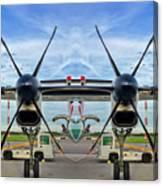 Aircraft Abstract Canvas Print