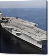 Aircraft Carrier Uss Carl Vinson Canvas Print