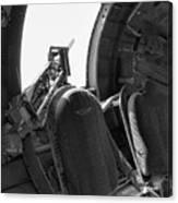 Aircraft Machine Gun Wwii Canvas Print