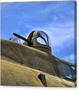 Aircraft Top Machine Gun Canvas Print