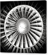 Aircraft Turbofan Engine Canvas Print