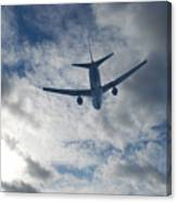 Airliner 01 Canvas Print
