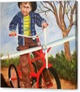 Airplane Bike Canvas Print