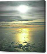 Airplane Flash  Canvas Print