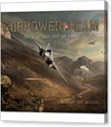 Airpower Team Canvas Print
