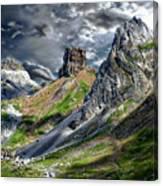 Aisa Valley Scenic Canvas Print