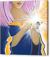 Ajna Third Chakra Goddess Canvas Print