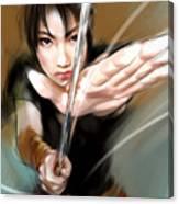 Akasaya Canvas Print
