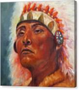 Akecheta, Native American Canvas Print