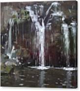 Akron Falls Canvas Print