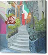 Al Bergo Degli Amici Canvas Print